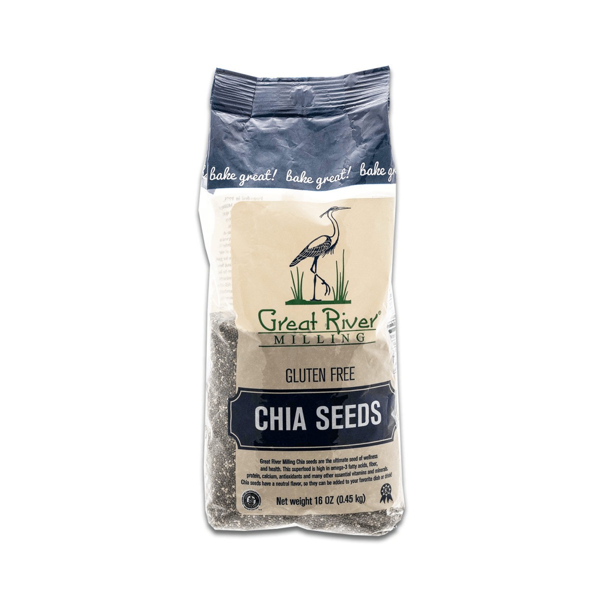 Great River Milling, GF, Chia Seeds