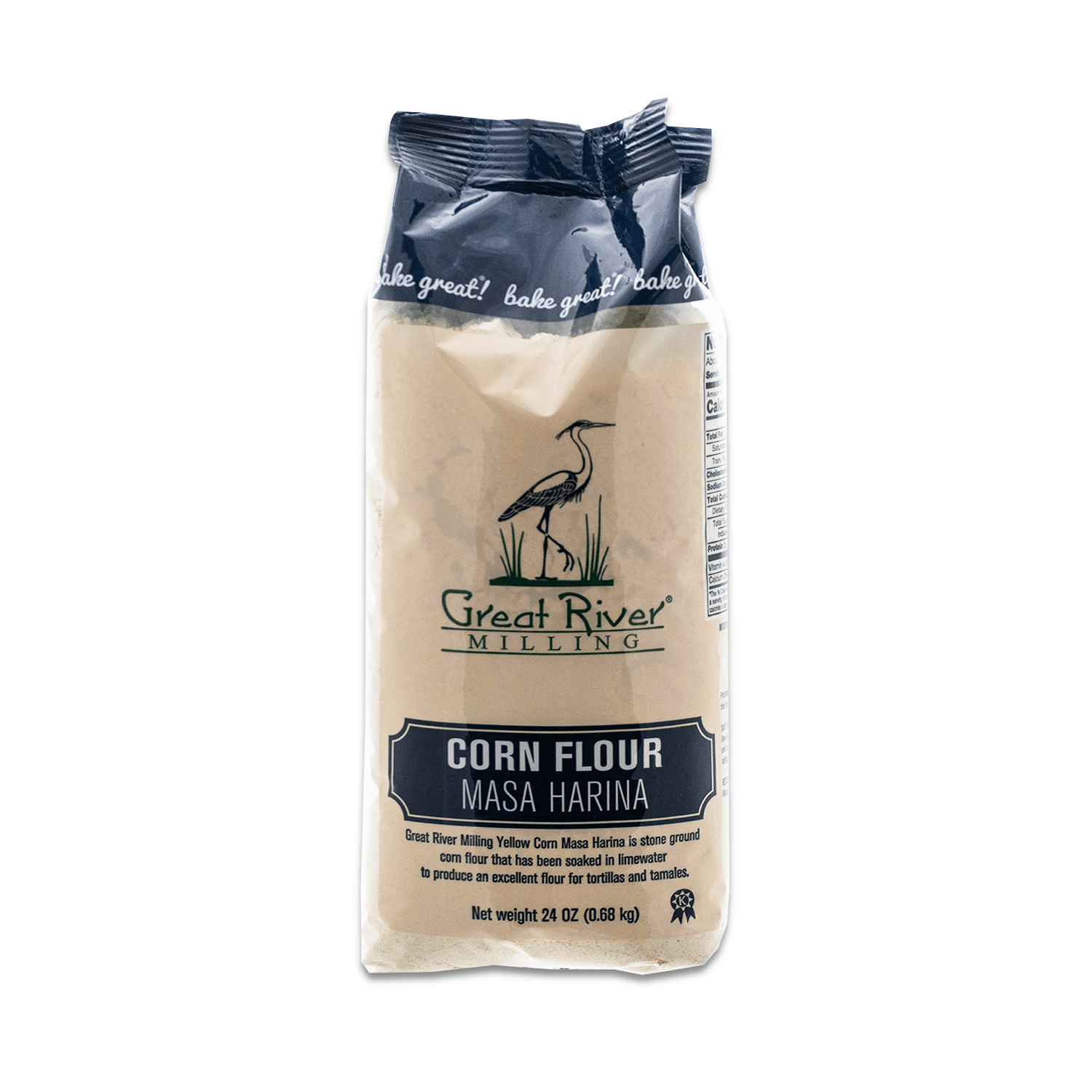 Great River Milling Corn Flour Masa Harina
