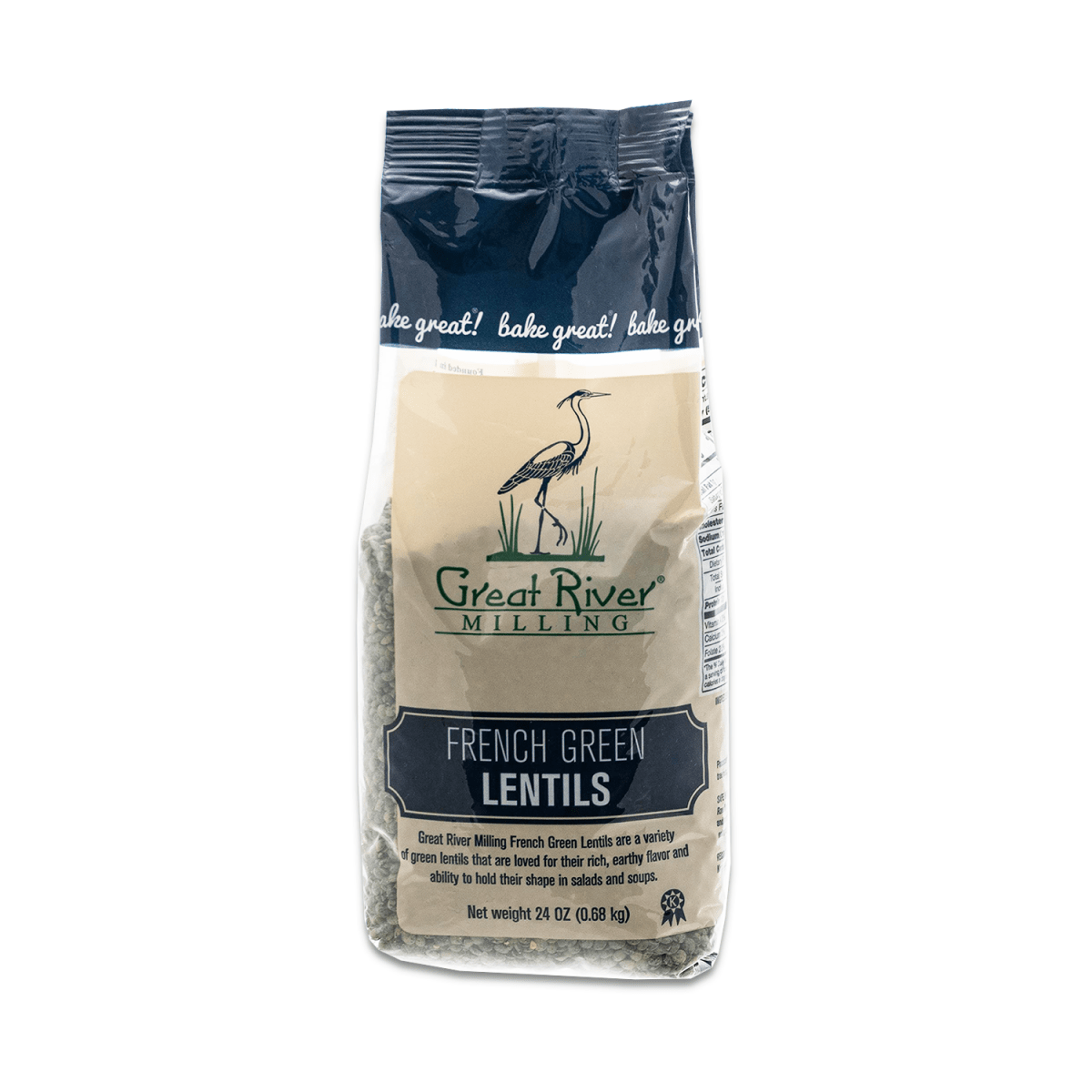 Great River Milling French Green Lentils