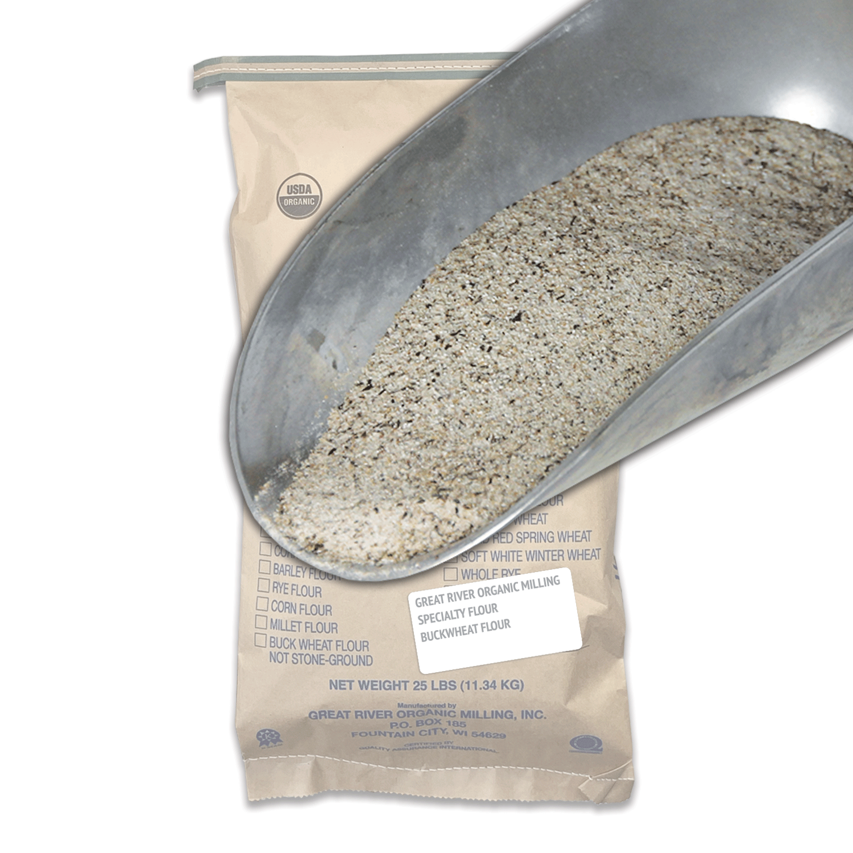 Organic Stone Ground Buckwheat Flour