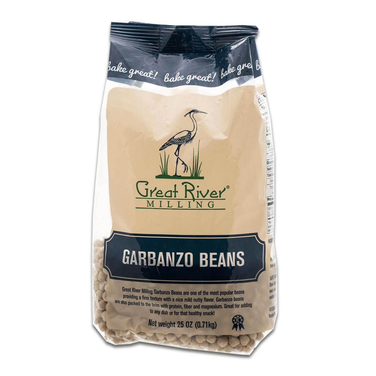 Great River Milling Garbanzo Beans Front