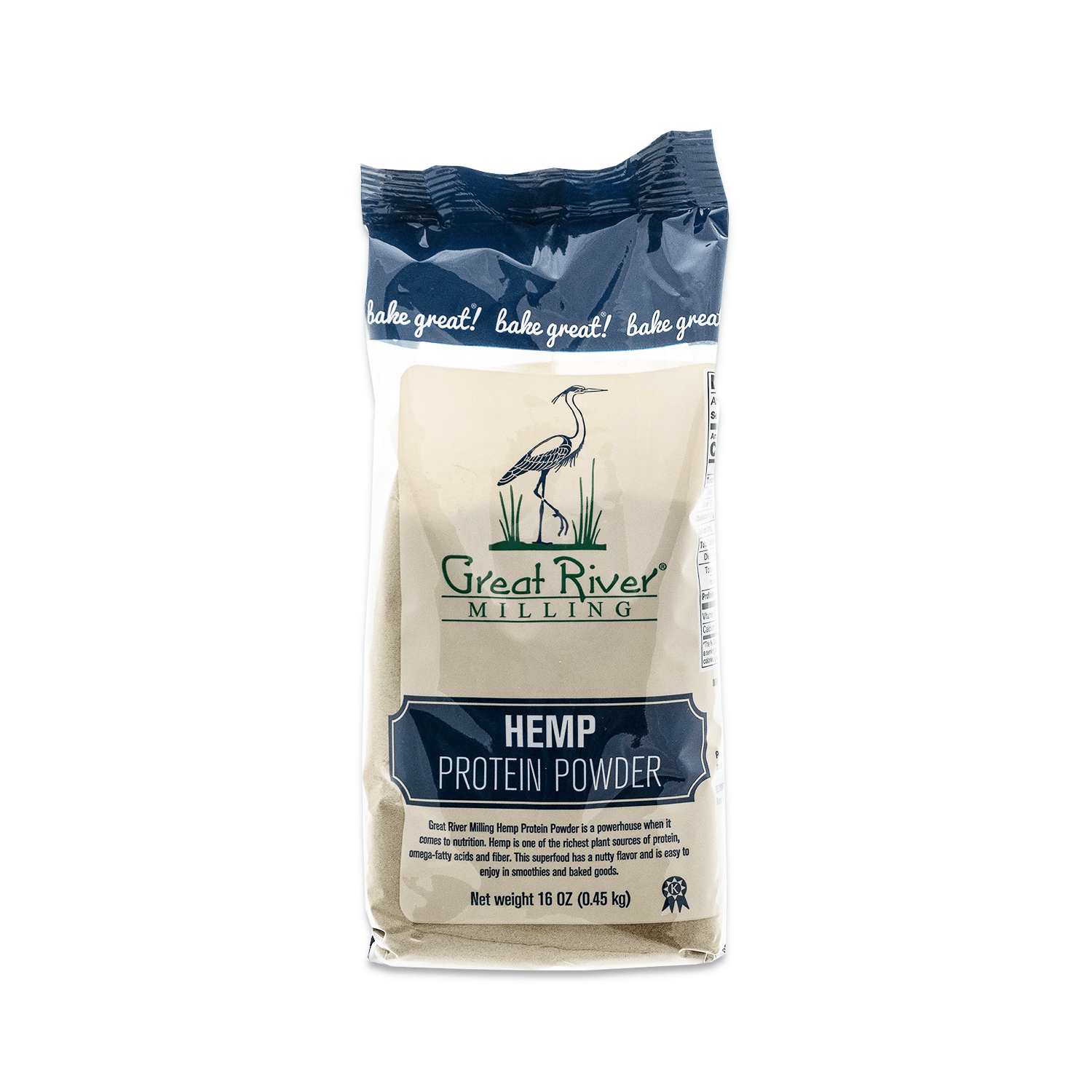 Great River Milling Hemp Protein Powder