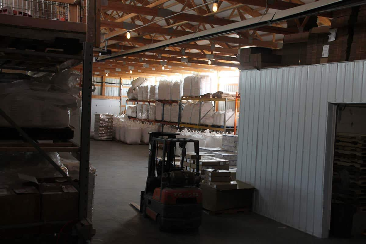 Warehouse From Upper Loading Dock