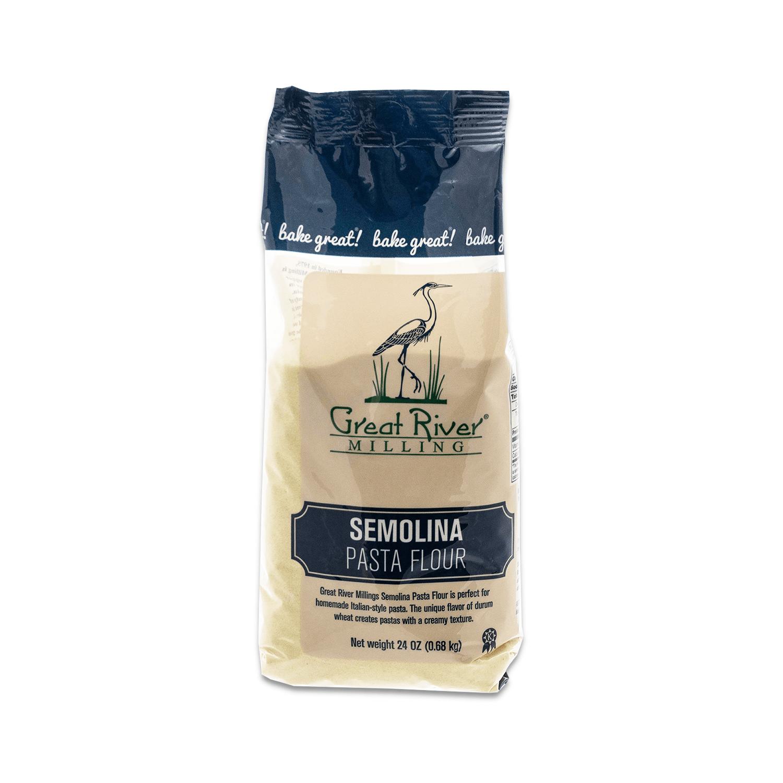 Great River Milling Semolina Pasta Flour