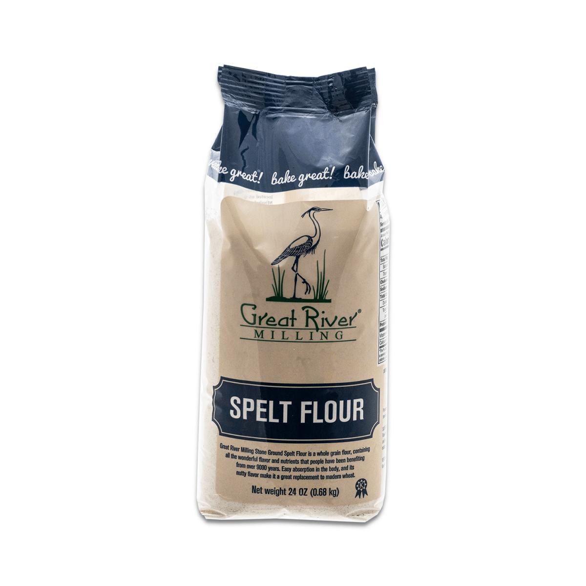 Great River Milling Spelt Flour Front