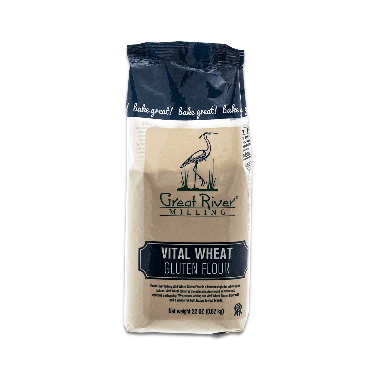 Great River Milling Vital Wheat Gluten Flour Front