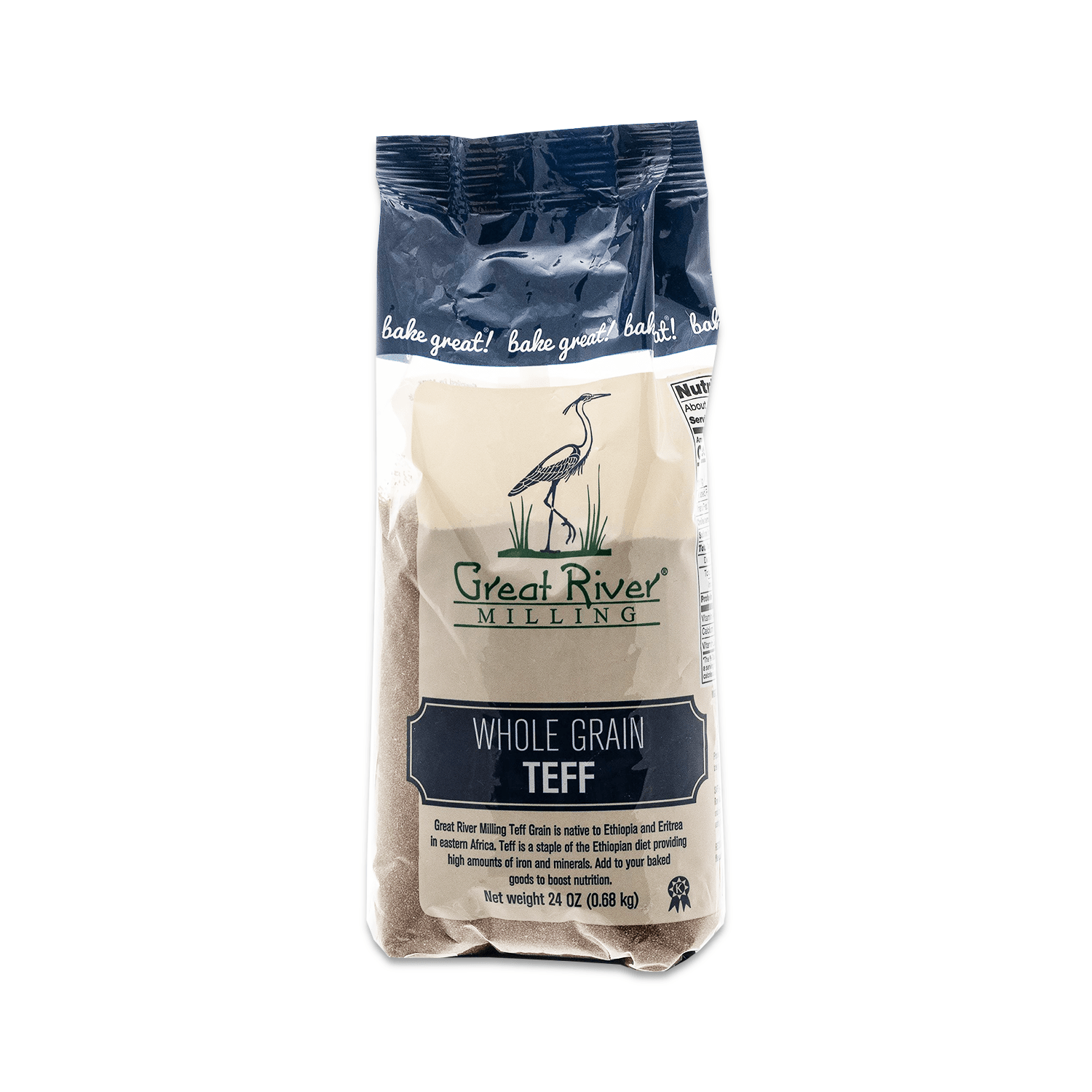 Great River Milling Whole Grain Teff