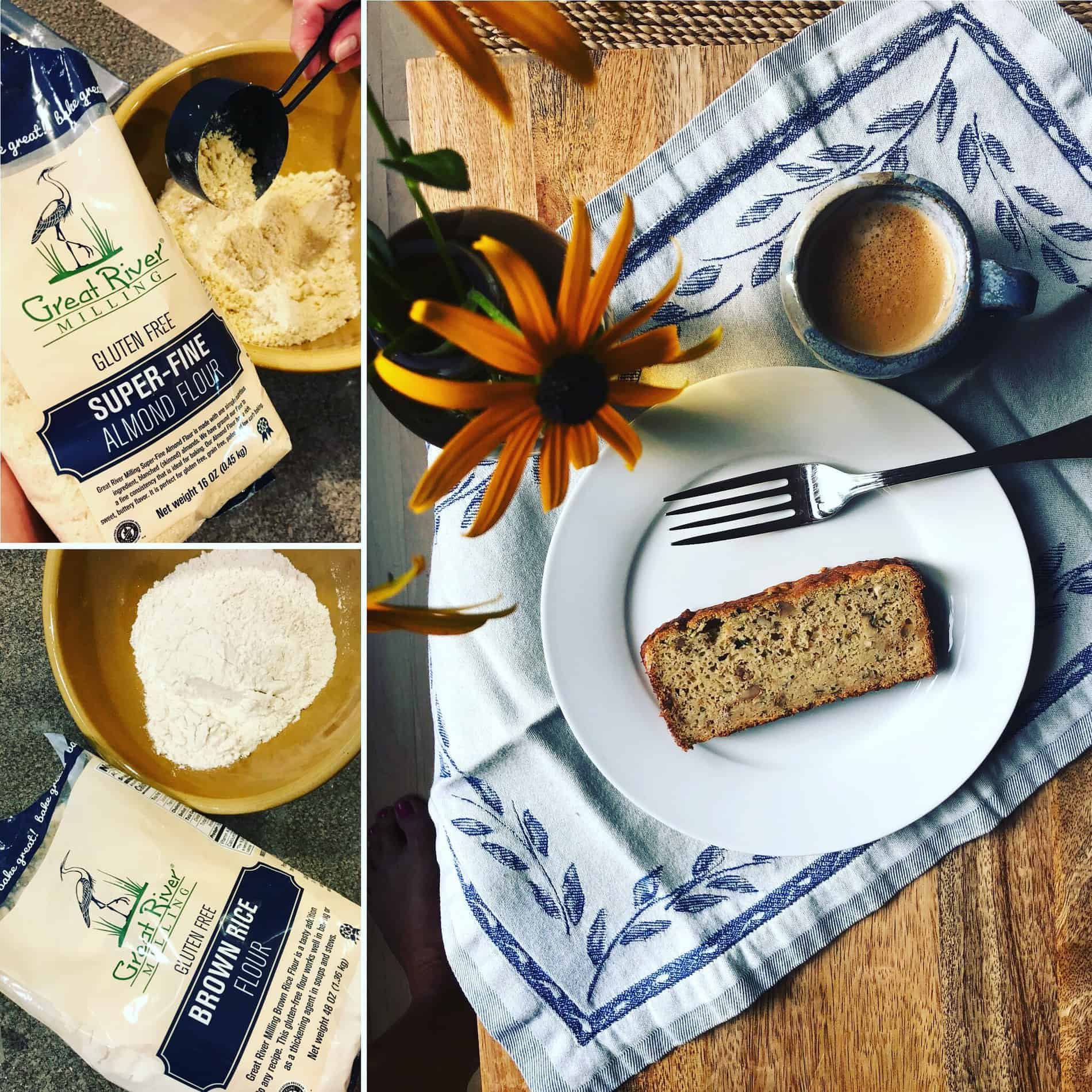 Zucchini Bread – Gluten Free