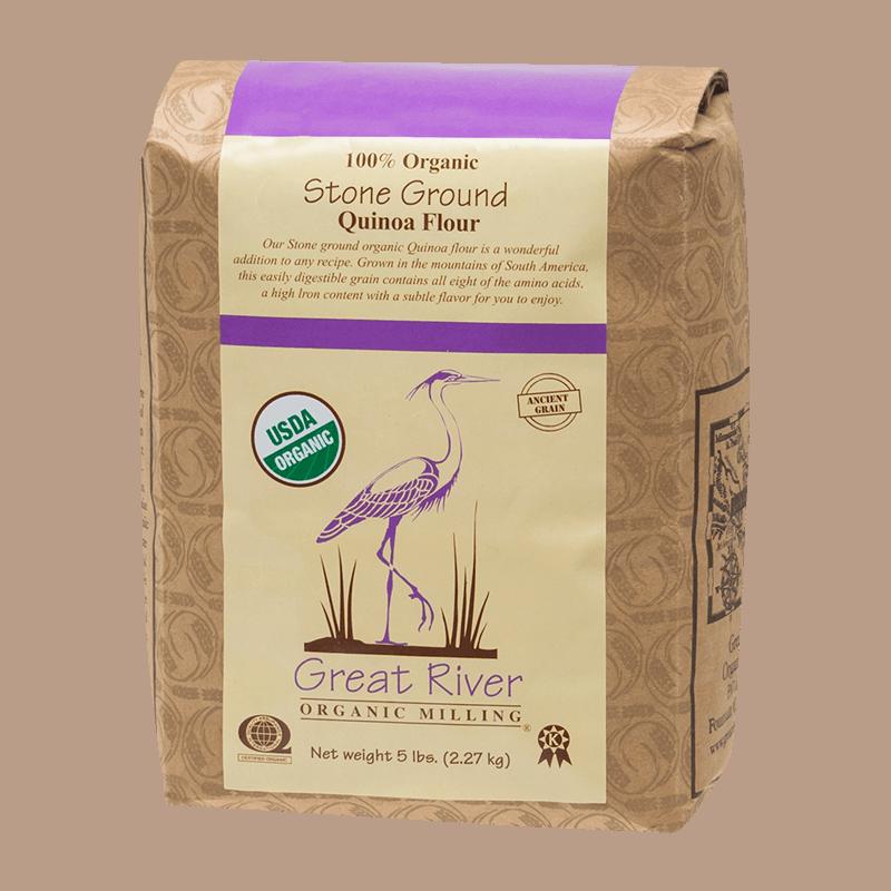 Great River Organic Milling Quinoa Flour