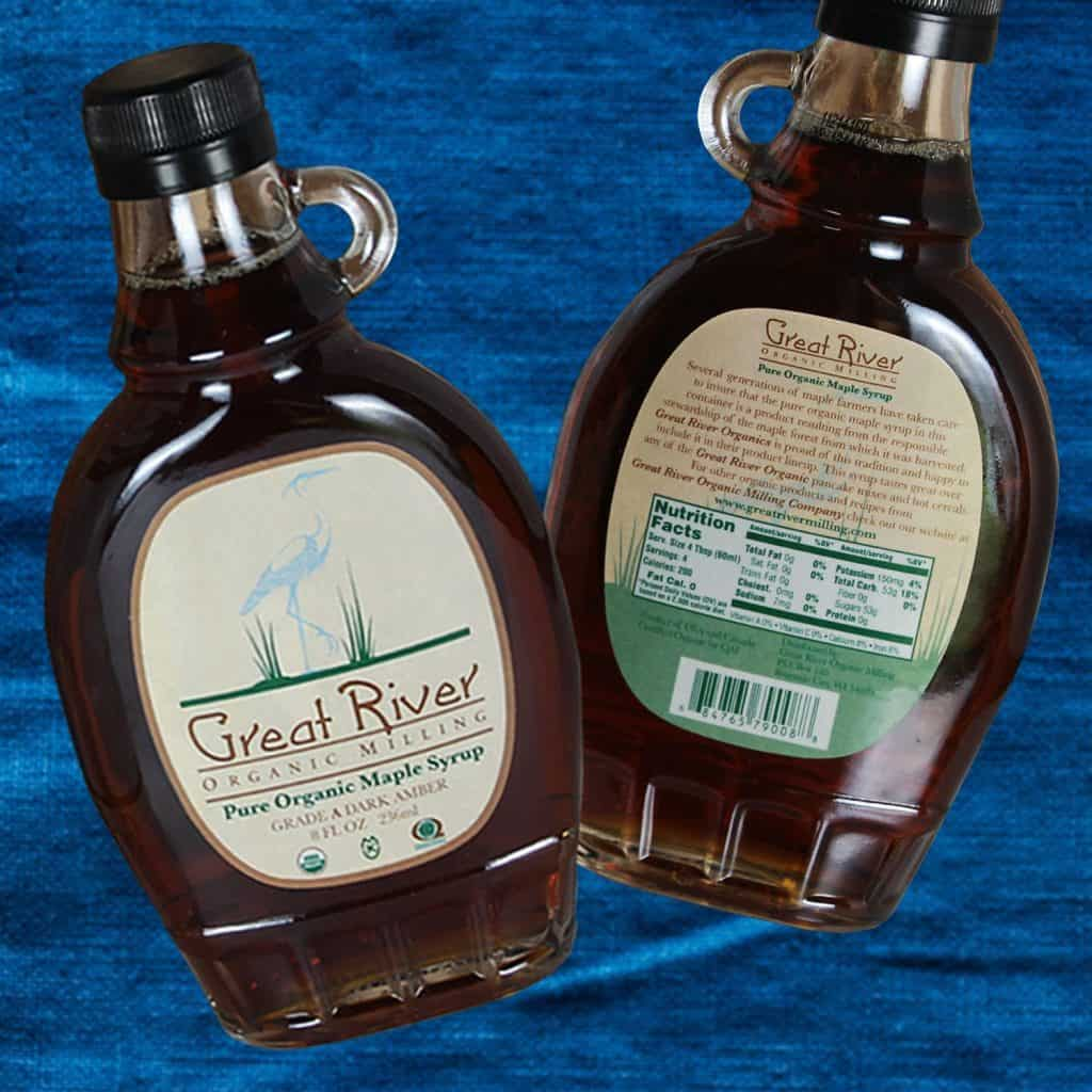Great River Organic Milling Organic Maple Syrup